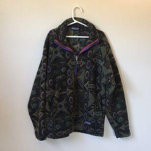 Vintage Patagonia 1/2 zip fleece jacket